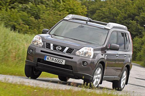 Der Nissan X-Trail ist nicht eben dezent unterwegs.