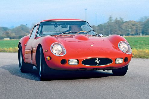 Traumhaftes Sportgerät mit Straßenzulassung: der Ferrari 250 GTO.