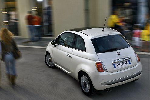 Stadtflitzer: Der neue Fiat 500 sorgt für Aufsehen, nicht nur in Italien.