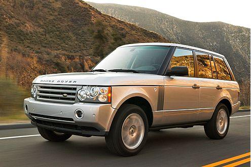 Der macht sich dick: Ein Range Rover nimmt 9,7 Quadratmeter ein.