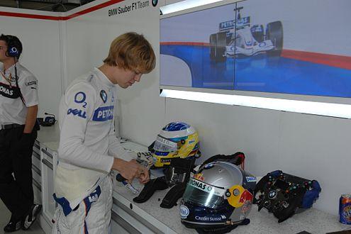 Für Sebastian Vettel ist nach einem Formel–1–Rennen erst mal Pause.