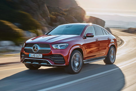 Mercedes-Benz GLE Coupé   !! Sperrfrist 28. August 2019  00:01 Uhr !!