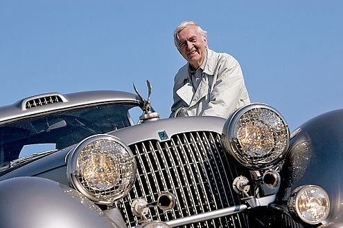 Isdera-Chef Eberhard Schulz träumt seit über 20 Jahren von diesem Auto.