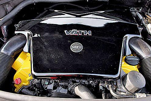 Aufgebohrt: Väth holt aus dem V8 435 PS – ein Plus von 129 Pferdchen.