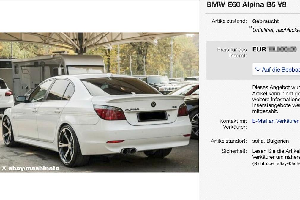 BMW E60 Alpina B5 V8