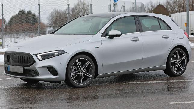 Neues Make-up für die Mercedes A-Klasse