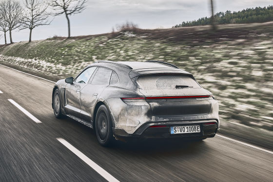 Porsche Taycan Cross Turismo Turbo S