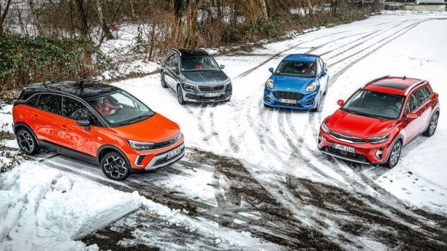 Opel Crossland, Ford Puma, Kia Stonic, Skoda Kamiq: SUVs