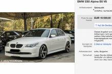 Gepflegter Alpina B5 (E60) mit 500 PS bei eBay zu verkaufen!