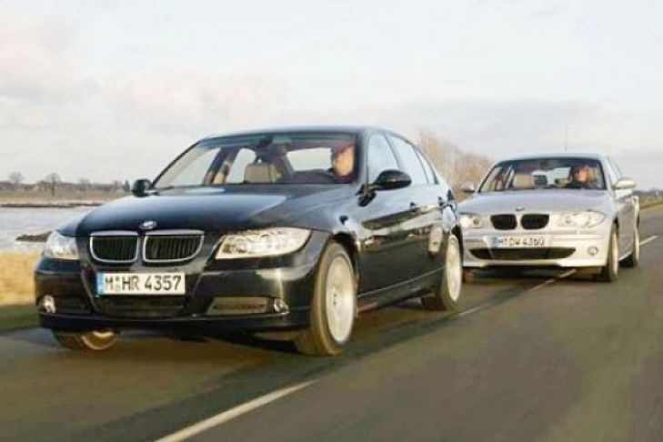 BMW 1er gegen 3er