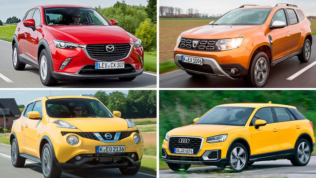 10 Mini- und Kompakt-SUVs im Check