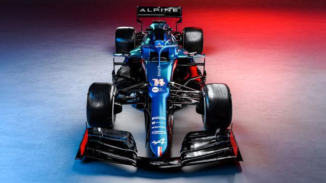 Formel 1: neuer Alpine-Renault A521