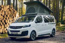 Opel Zafira Life jetzt auch als Camper