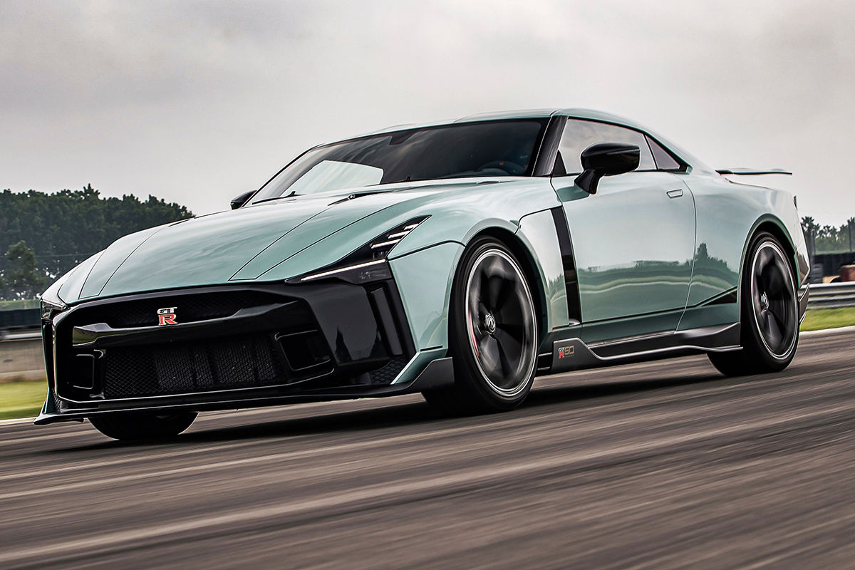 Nissan Gt R50 2021 Italdesign Sondermodell Test Preis Info Auto Bild
