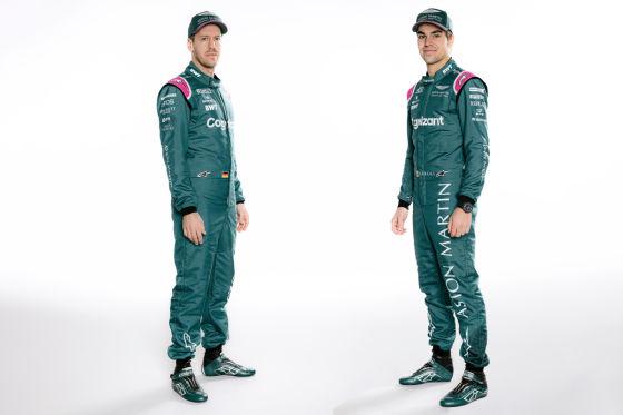 Aston Martin zeigt Vettels erstes Auto in grün