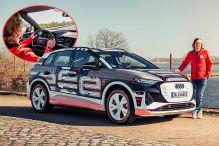 Audi Q4 e-tron Prototypenfahrt