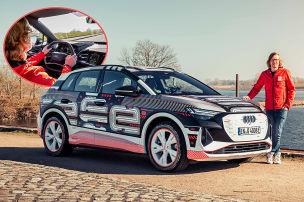 Q4 e-tron: So f�hrt der ID.4 von Audi