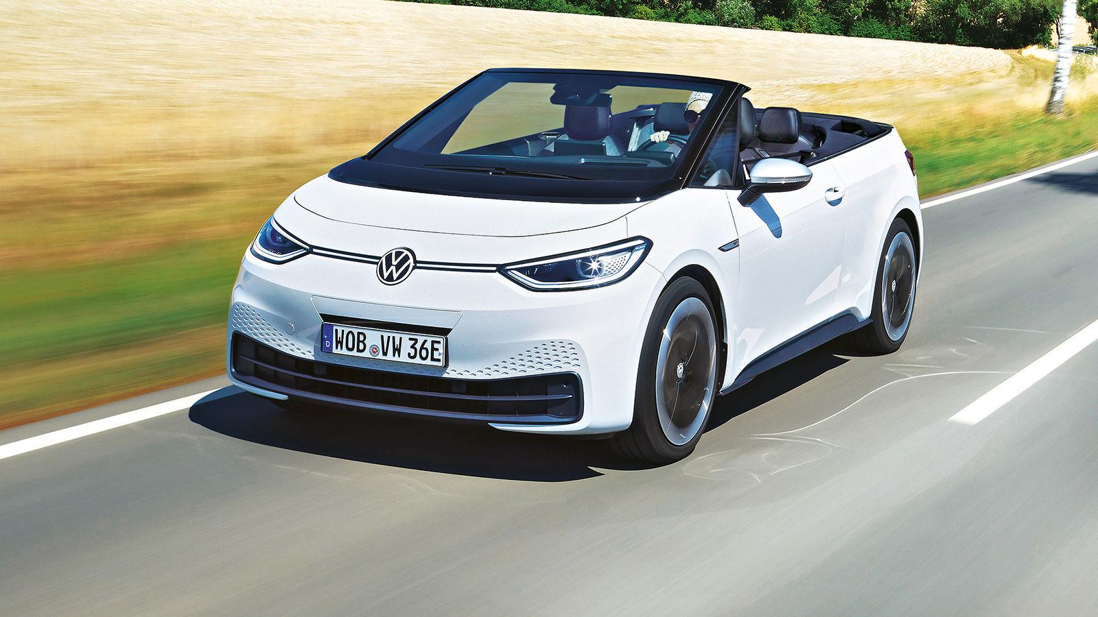 VW ID.3 Cabrio (2021): Neuvorstellung - Skizze - Info ...