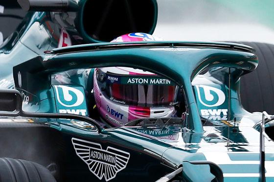 Vettel absolviert Jungfernfahrt mit neuem Helm