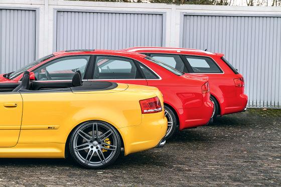 Audi RS 4 B7 Cabrio      Audi RS 4 B7 Limousine            Audi RS 4 B7 Avant