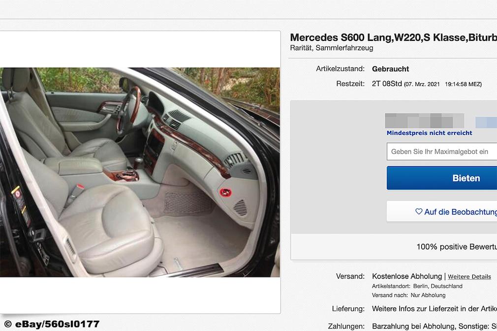 Mercedes S600 Lang