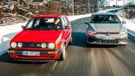 Golf 2 GTI 16V, Golf 8 GTI Clubsport: Fahrbericht