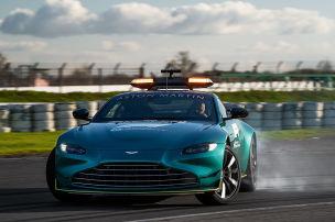 Das neue Safety-Car ist ein Aston Martin