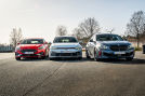 Ford Focus ST          VW Golf GTI         BMW 128ti