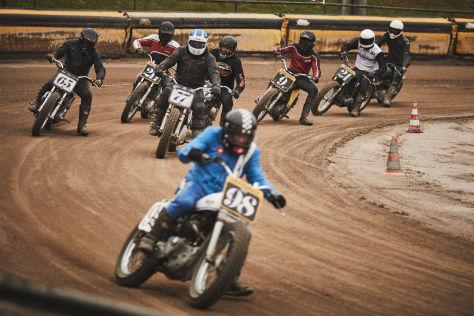 Krowdrace 2021: Flat Track in Deutschland