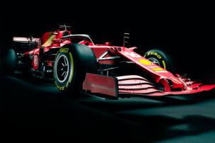 Neuer Ferrari mit gr�nen Akzenten