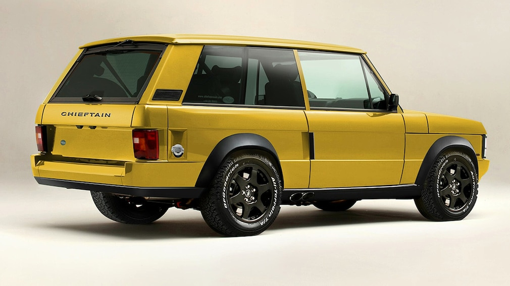 Chieftain Xtreme - Range Rover Restomod
