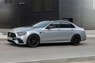 Neue Top-E-Klasse als Hybrid?