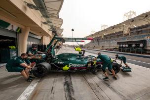 Vettel schon mit Durchhalteparolen