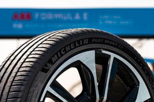 Haltbarer Reifen f�r sportliche E-Autos