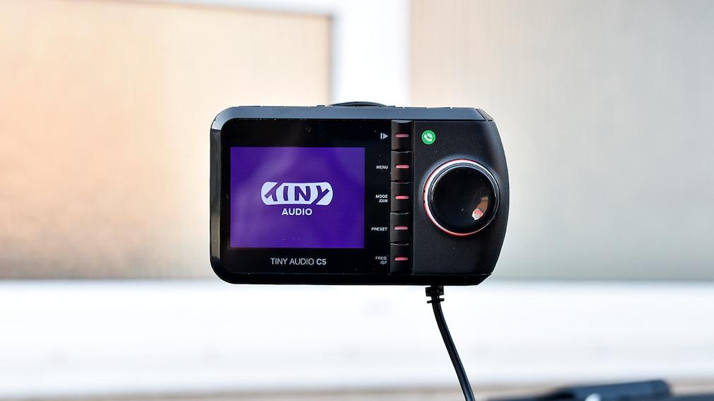 DAB+-Adapter  Tiny Audio