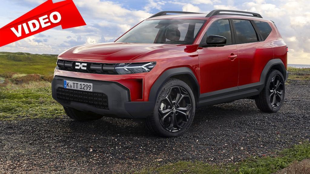 So könnte das neue SUV von Dacia kommen