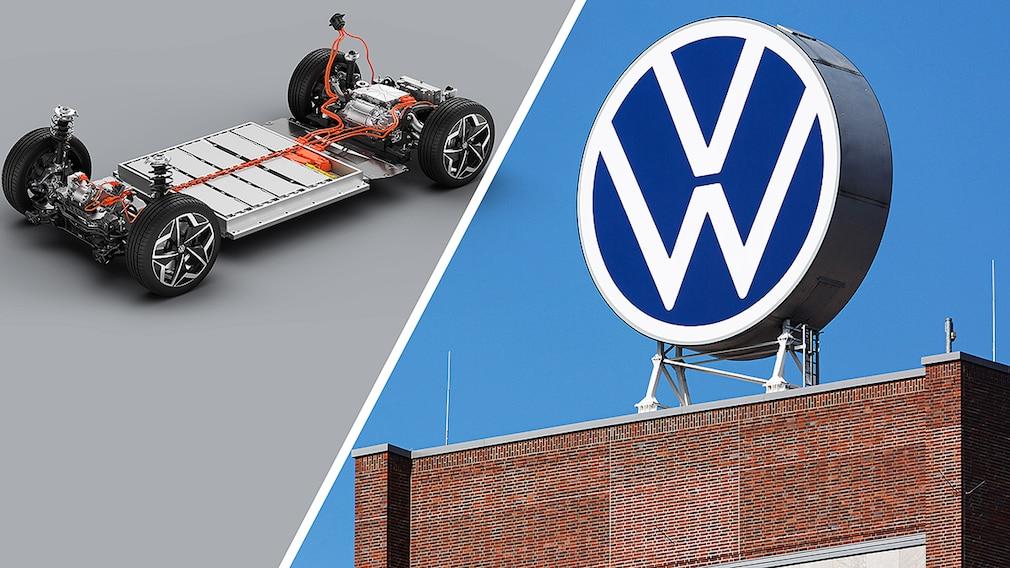 VW Standard-Akku für E-Autos