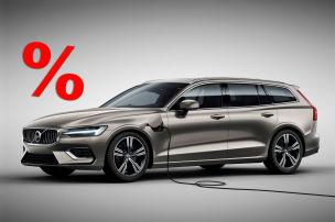 V60 Hybrid bis zu 16.033 Euro g�nstiger