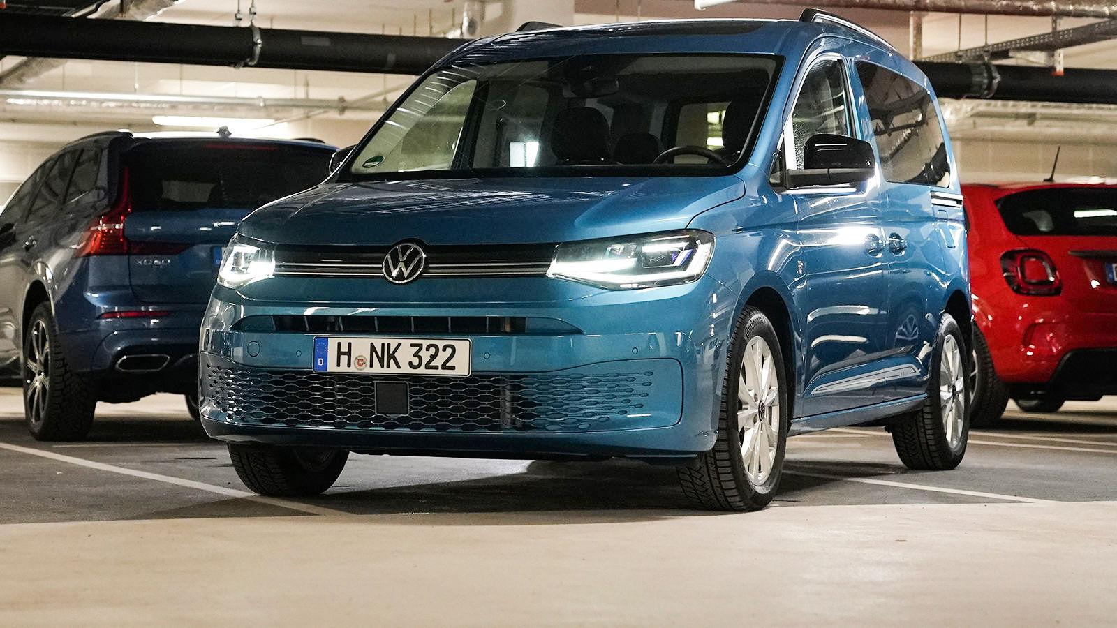 VW Caddy (2021): Vorstellung - Garage - Motor - PS - Info ...
