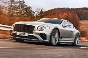 Neuer Super-Bentley mit Allradlenkung