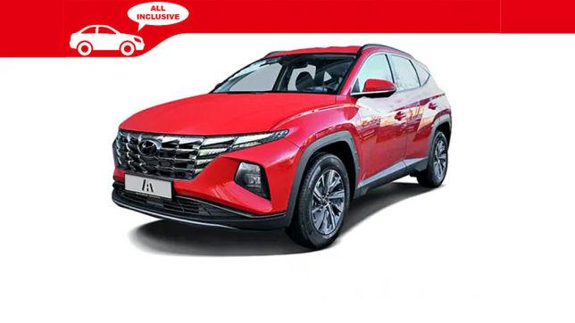 Hyundai Tucson Hybrid (2021): Auto-Abo