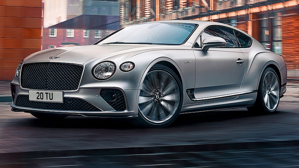 Neuer Super-Bentley mit 659 PS und Allradlenkung