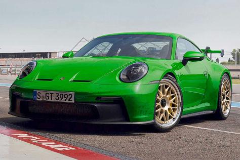 Porsche 911 (992) GT3 auf HRE Felgen