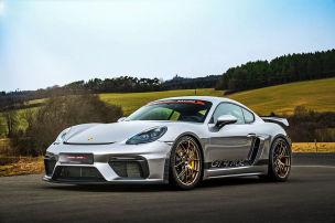 Porsche 718 Cayman GT4 MR (2021): Tuning