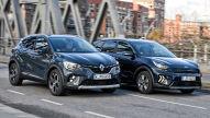 Kia Niro gegen Renault Captur: Plug-in-Hybrid-SUVs