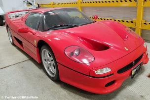 Ferrari F50 nach 18 Jahren wieder da