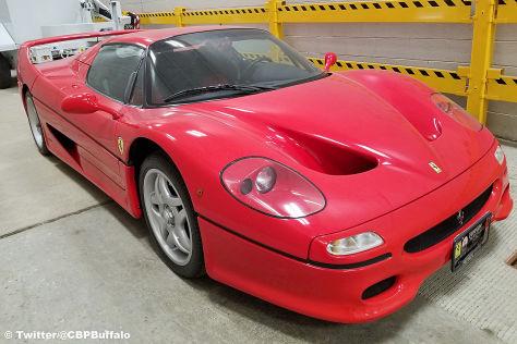 Ferrari F50: Diebstahl, Preis, Wert