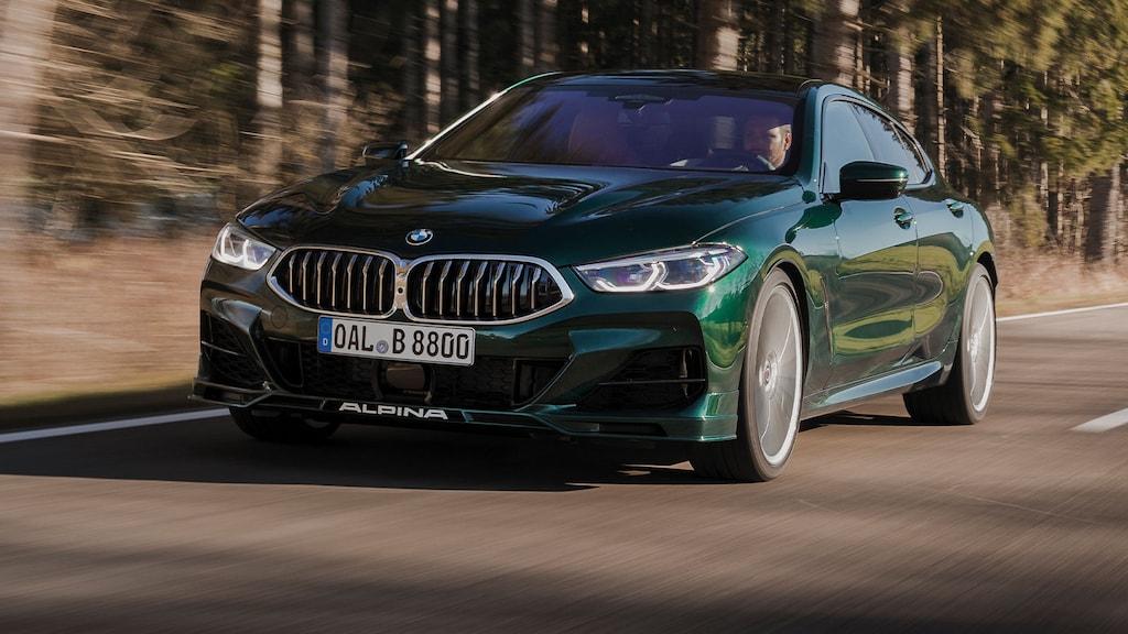 Alpina zeigt den ersten Trailer des neuen B8 Gran Coupé