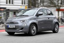 Der Fiat 500 hat jetzt 400 Volt