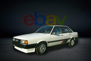 Sportlicher Audi 80 GTE unter 6000 Euro